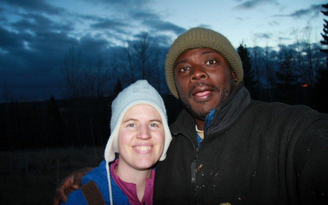 Meghan and Kwesi