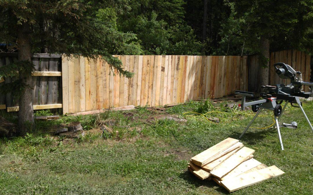 English Garden Fence