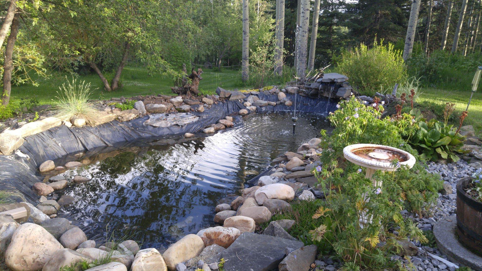 Fake pond