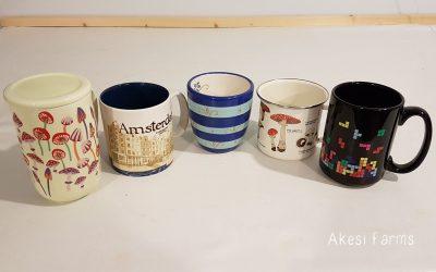 Mugs in Meghan's Office