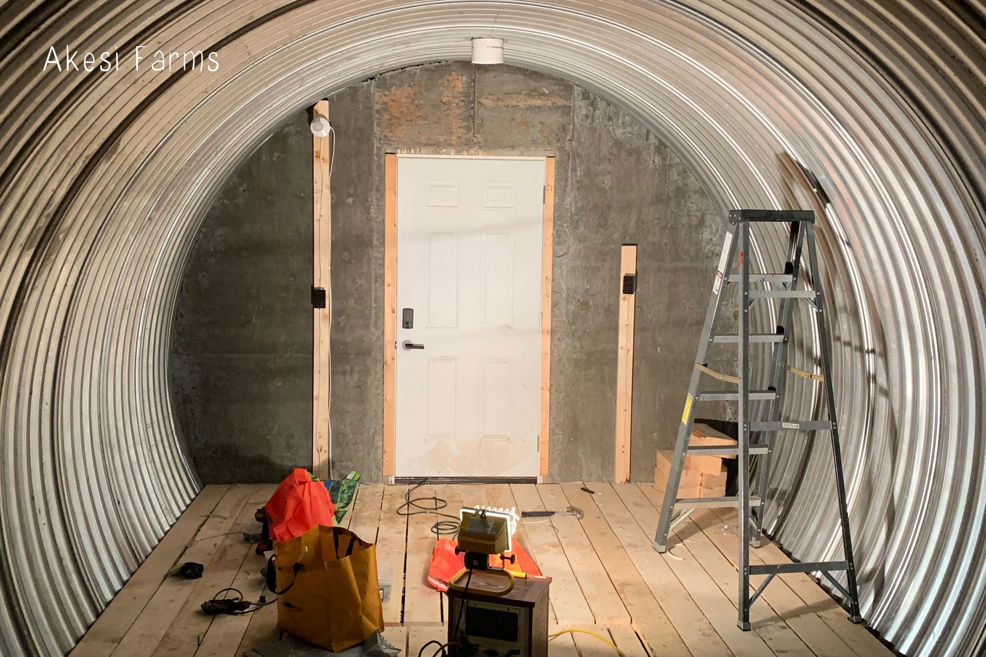 Root cellar electrical